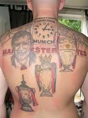 Manchester United Tattoos On Backside