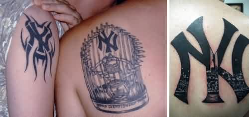 NY Yankees Tattoos Pics
