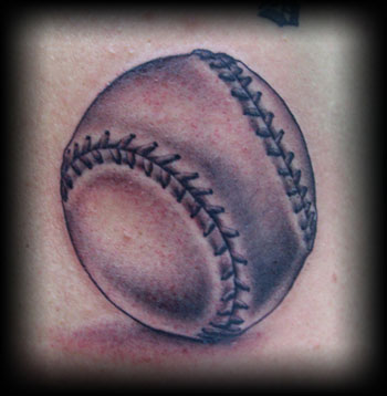 Original Baseball Tattoo