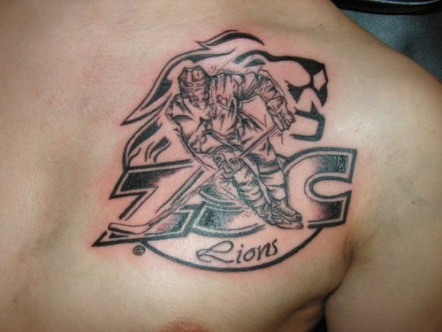 The Ultimate Sports Tattoo On Front Shoulder