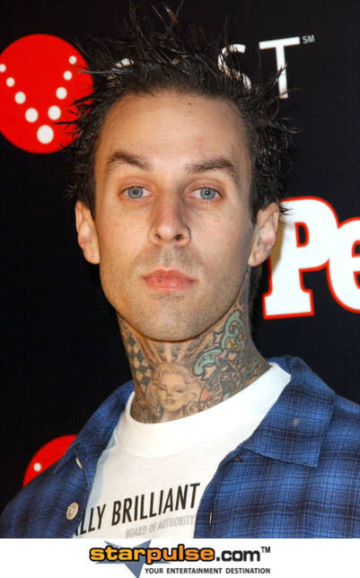 Travis Barker's Neck Tattoos