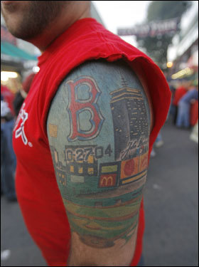 Tremendous Colored Sports Tattoo On Half Sleeve