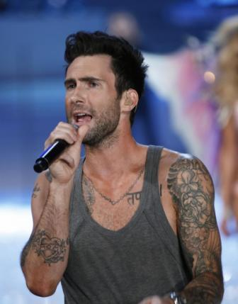 Adam Levine Shoulder Tattoo