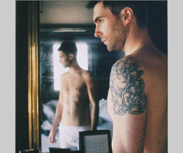 Adam Levine Shoulder Tattoos