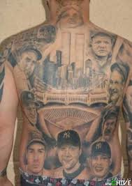 Amazing Sports Tattoos On Complete Back