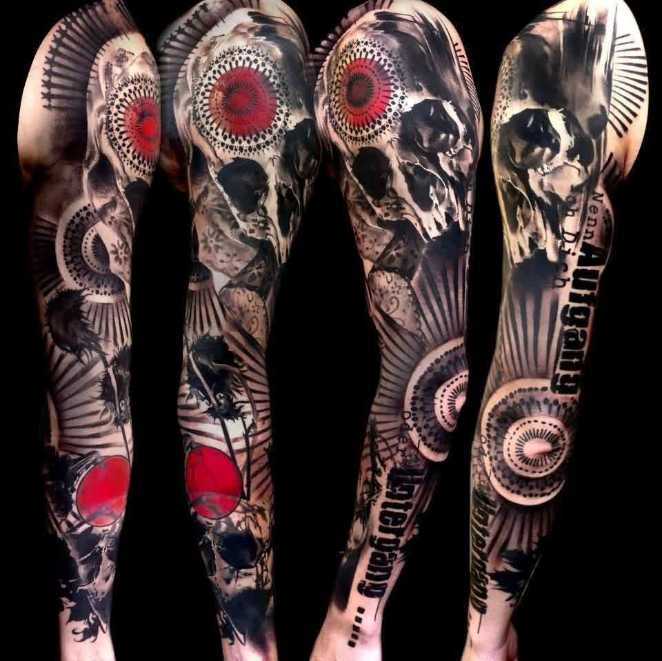 Artistic Sleeve Tattoos
