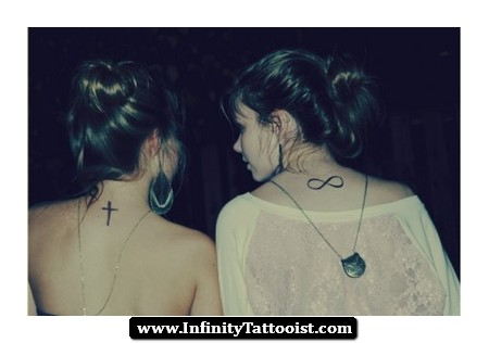 Best Friends Get Neck Tattoos