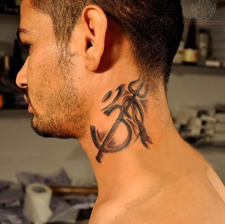 Best Holy Neck Tattoo For Guys