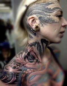 neck tattoos designs and ideas page 84