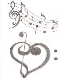 Black Music Tattoo Designs