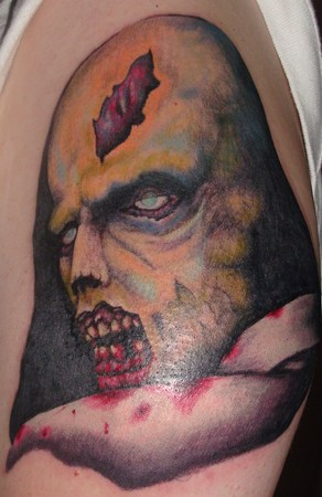 Bloody Monster Tattoo