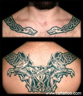 Celtic Snake Tattoo Images For Men
