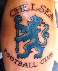 Chelsea Football Club Logo Tattoo