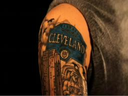 Cleveland Sports Tattoos On Sleeve