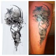 Dallas Cowboys Helmet Tattoos Pic