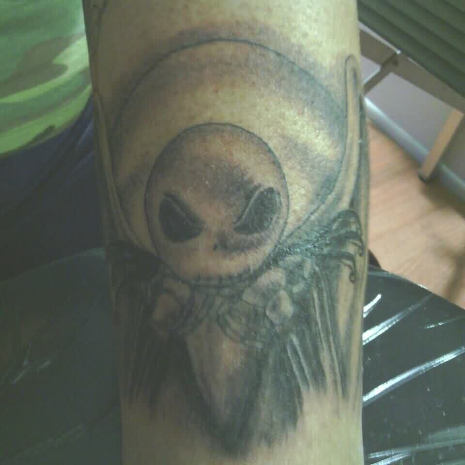 Dark Jack Skeleton Tattoo