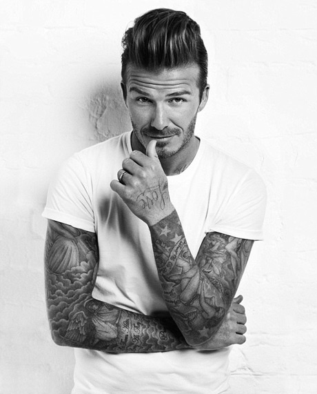 David Beckham's Sleeve Tattoos