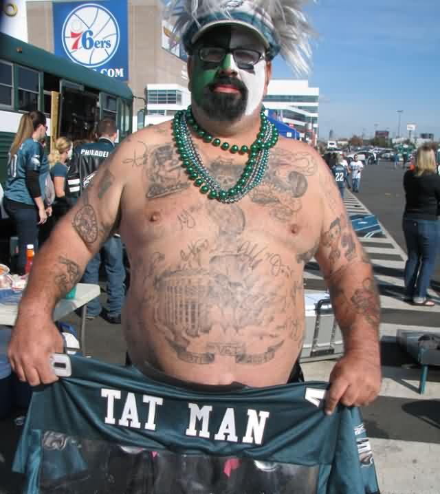 Eagles Tat Man