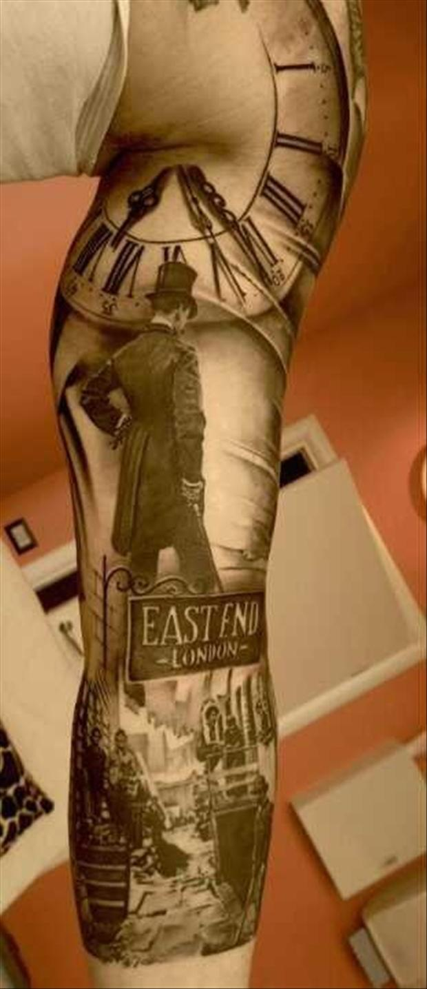 East End Sleeve Tattoos