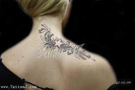 Feminine Star Tattoos Specially For Girls