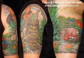 Forest Half Sleeve Tattoos