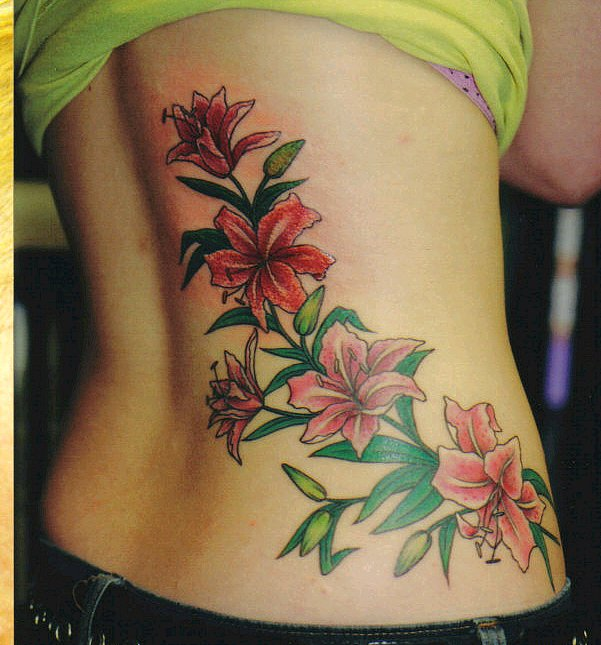 Gorgeous Orchid Tattoos For Women