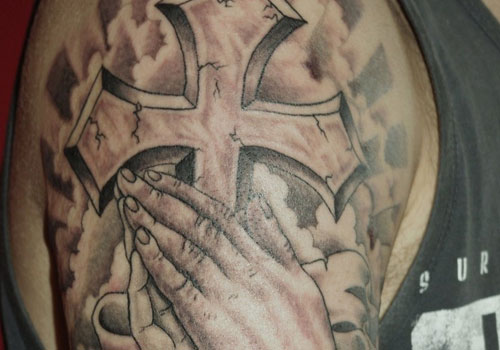 Great Religious Tattoos On Sleeve