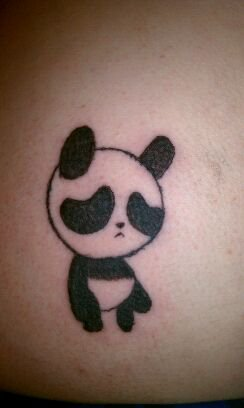 Have A Cute Panda Tattoo!