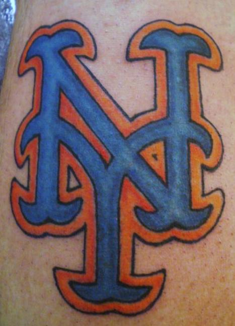 Latest NY Sports Logo Tattoo