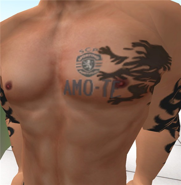 Latest Sports Chest Tattoos For Men