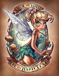 Latest Tinkerbell Tattoo Poster