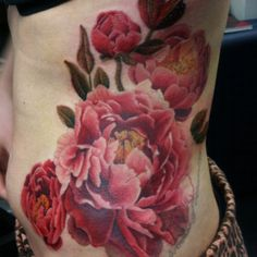 Lovely Stomach Tattoos