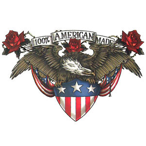 100% American Made Patriotic Tattoo Design