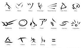 Adventure Universal Symbol Tattoo Designs
