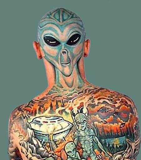 Alien Tattooed People