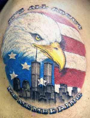 All About Remembering - Patriotic Tattoo
