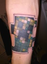 Amazing Minecraft Tattoo On Forearm