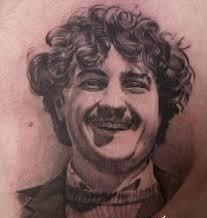 Amazing Smiling People Portrait Tattoo