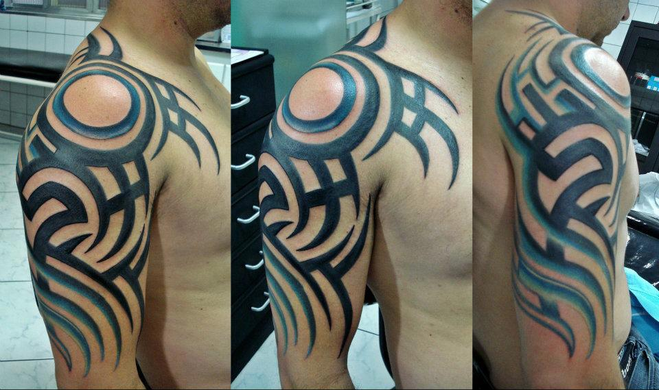 Amazing Tribal Tattoo Style For Men