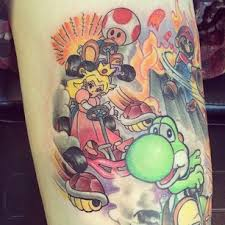 Amazing Video Game Character Tattoos