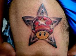 Amazing Video Game Tattoo For Men