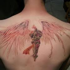 Amazing Video Game Tattoo On Upper Back