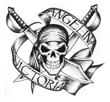 Angelina Victoria Pirate Tattoo Design