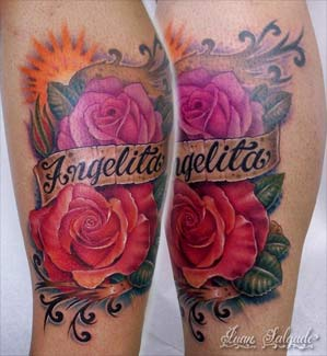 Angelita Roses Tattoos