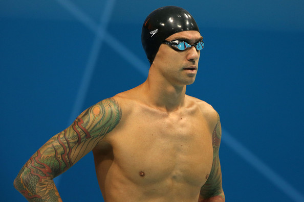 Anthony Ervin's Colorful Sleeve Tattoos