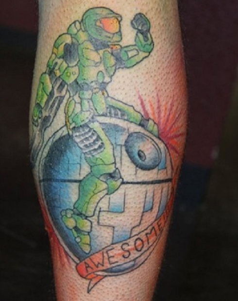 Awesome Video Game Tattoo