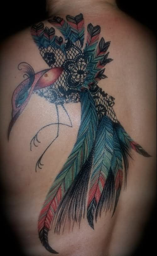 Beautiful Design Of Phoenix Tattoo