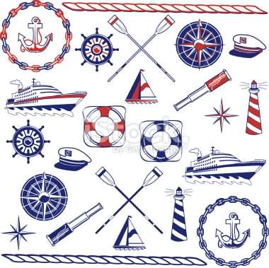 Best Nautical Tattoos Sheet