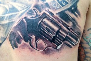 Best Original Pistol Tattoo