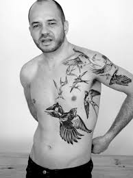 Birds Tattoos On Body Of People